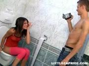Akcja w toalecie