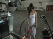 Bobbi Starr w akcji z sex maszyną